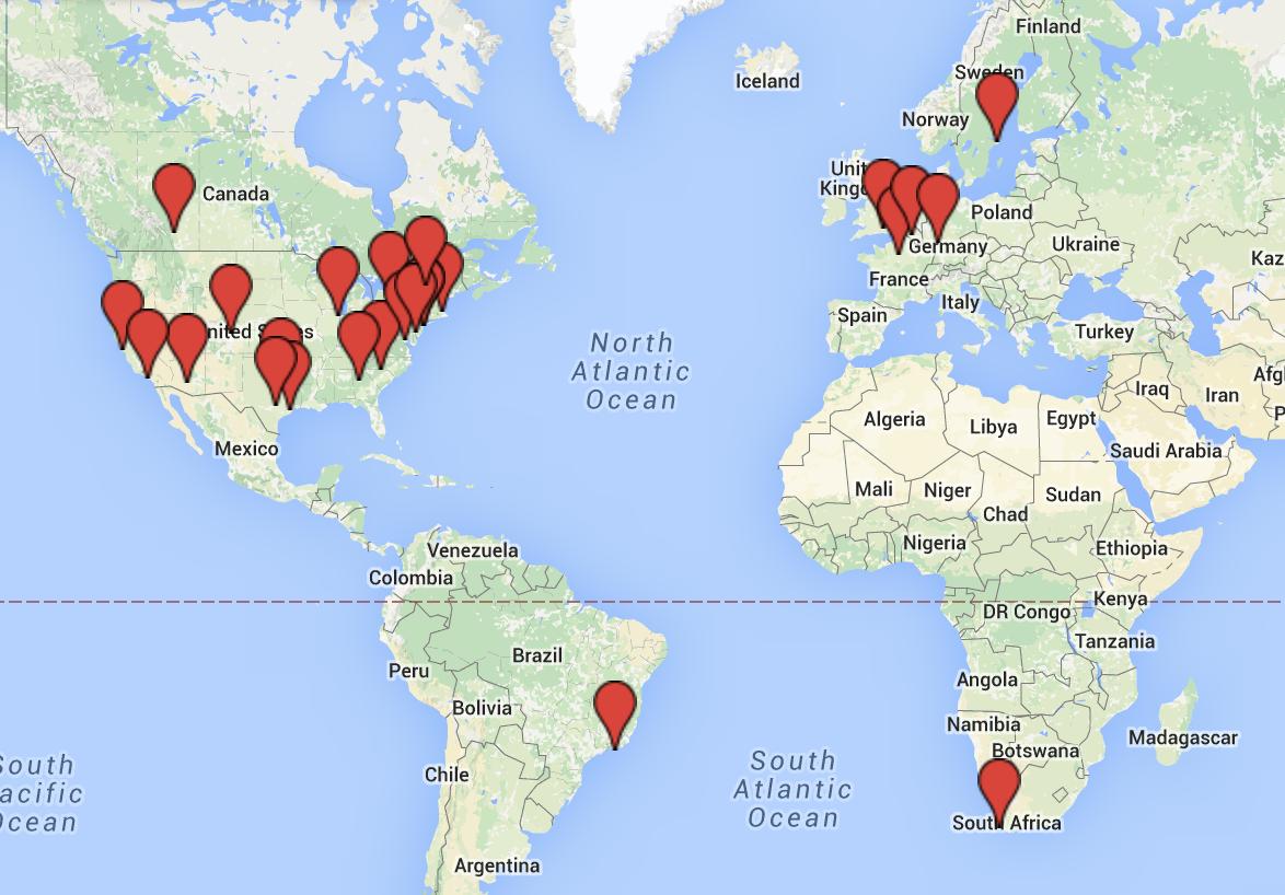 2016 Summit Map