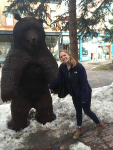 jamie in aspen 2 with bear